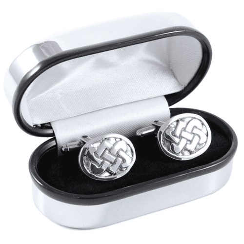 Celtic Knot Pewter Cufflinks - PC212